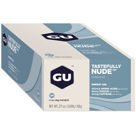 GU Energy Gel Box 24x32g Tastefully Nude